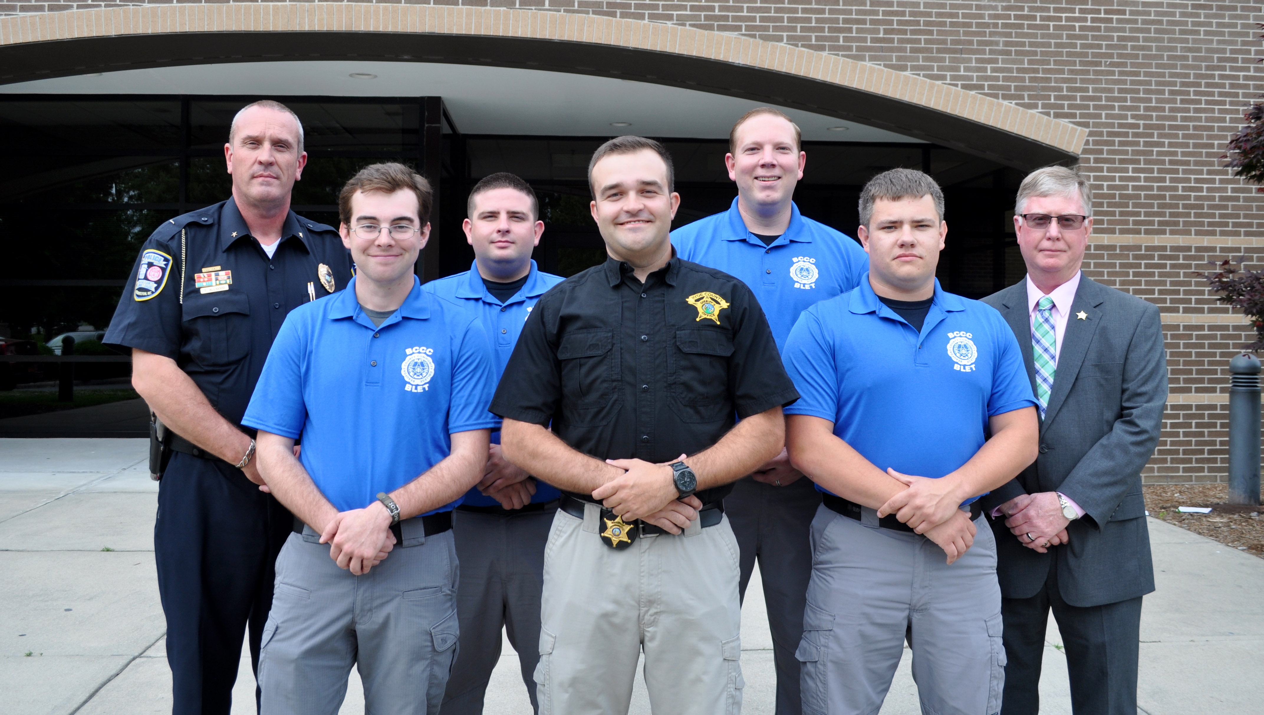 Ceremony Honors Spring 2018 Law Enforcement Graduates Beaufort